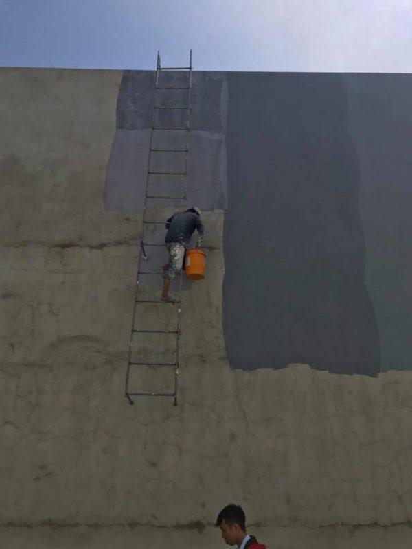 thi công chống thấm tường nhà ngoài