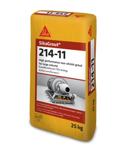 sika-grout 214-11 vữa rót gốc xi măng không co ngót
