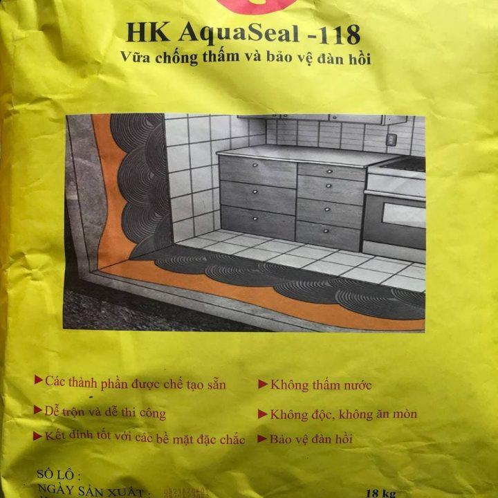 HK AQUASEAL- 118 VỮA CHỐNG THẤM VÀ BẢO VỆ ĐÀN HỒI